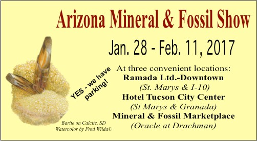 Arizona Mineral and Fossil Show
